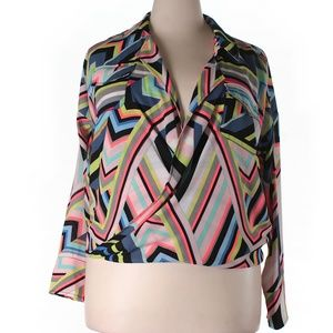 Psychedelic Multicolored Blouse